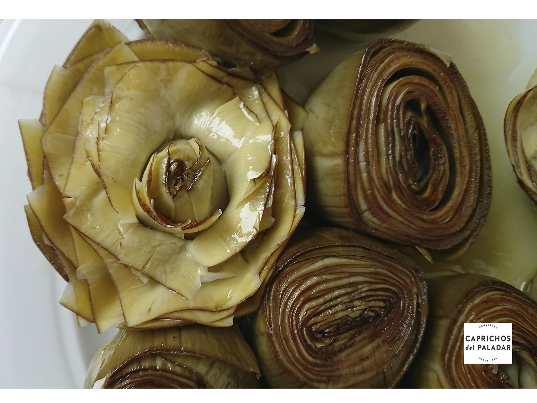flor alcachofa carné carolls carprichos del paladar murcia barcelona carxofa carxofes alcachofas